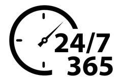 Σταθερή σταθερή υπηρεσία όλη την ημέρα, όλη η εβδομάδα όλο το χρόνο στοκ φωτογραφία με δικαίωμα ελεύθερης χρήσης