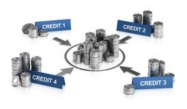 Σταθεροποίηση πίστωσης ή δανείου, απαλλαγή φόρου Στοκ Εικόνες