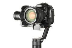Σταθεροποιητής αναρτήρων με τη κάμερα στοκ φωτογραφία με δικαίωμα ελεύθερης χρήσης