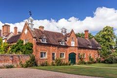 Σταθερός φραγμός, σπίτι Packwood, Warwickshire, Αγγλία στοκ φωτογραφία με δικαίωμα ελεύθερης χρήσης