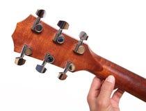 σταθερό μέρος τόρνου κιθάρ Στοκ εικόνα με δικαίωμα ελεύθερης χρήσης