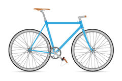 Σταθερό ποδήλατο διανυσματικό Illustation εργαλείων Στοκ Φωτογραφίες