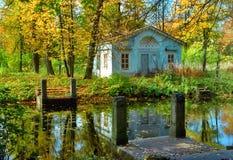 σταθμεύστε τη θέση ρομαντ&i Στοκ Φωτογραφίες