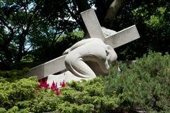 Σταθμοί του σταυρού - ρητορική του ST Joseph - Μόντρεαλ Στοκ Εικόνες