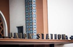 Σταθμός ένωσης, Λος Άντζελες Στοκ Εικόνες