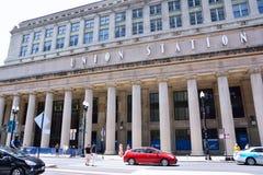 Σταθμός ένωσης στο Σικάγο, ΗΠΑ Στοκ Εικόνες