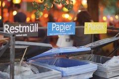 Σταθμός αποβλήτων φεστιβάλ Tolwood Στοκ Φωτογραφία