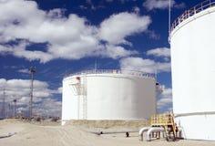 Σταθμός εγκαταστάσεων καθαρισμού αερίου Στοκ Εικόνα