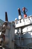 σταθμός ηλεκτρικής δύναμης στοκ φωτογραφία με δικαίωμα ελεύθερης χρήσης