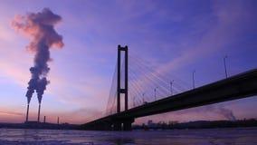 Σταθμός θερμότητας electropower και μεγάλη γέφυρα φιλμ μικρού μήκους