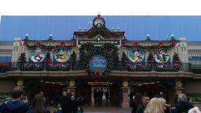 Σταθμός κεντρικών δρόμων Disneyland Παρίσι Στοκ φωτογραφία με δικαίωμα ελεύθερης χρήσης