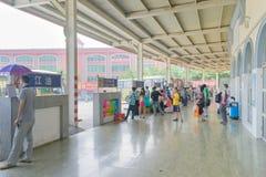 σταθμός λεωφορείων Στοκ εικόνες με δικαίωμα ελεύθερης χρήσης