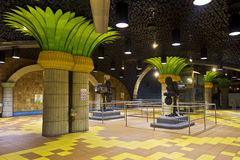 σταθμός μετρό λεωφόρων hollywood Los &tau Στοκ εικόνες με δικαίωμα ελεύθερης χρήσης