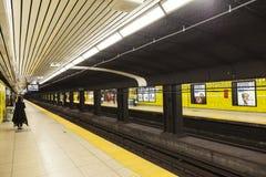 Σταθμός μετρό στο Τορόντο, Καναδάς Στοκ φωτογραφία με δικαίωμα ελεύθερης χρήσης