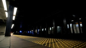 Σταθμός μετρό του Μανχάταν απόθεμα βίντεο
