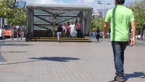 Σταθμός μετρό του Σαντιάγο φιλμ μικρού μήκους
