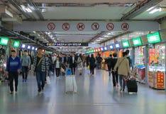 Σταθμός μετρό ψωνίζοντας arcade Κίνα της Σαγκάη Στοκ φωτογραφίες με δικαίωμα ελεύθερης χρήσης