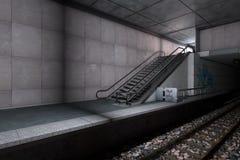 Σταθμός μετρό Στοκ Φωτογραφίες