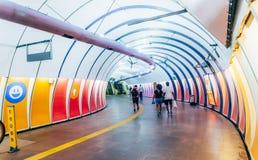 Σταθμός μετρό Arcoverde στο Ρίο ντε Τζανέιρο, Βραζιλία στοκ φωτογραφία με δικαίωμα ελεύθερης χρήσης
