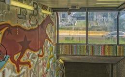 Σταθμός μετρό Champs de Άρης Στοκ Εικόνα
