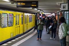 Σταθμός μετρό U2 των γραμμών - Potsdamer Platz Στοκ φωτογραφία με δικαίωμα ελεύθερης χρήσης