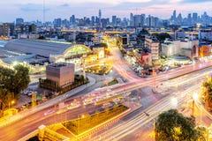 Σταθμός Μπανγκόκ της Hua Lamphong στην Ταϊλάνδη στοκ εικόνα