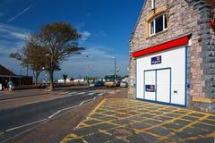 Σταθμός ναυαγοσωστικών λέμβων σε Exmouth Στοκ Φωτογραφία