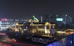 Σταθμός Νότια Κορέα της Σεούλ στοκ εικόνες