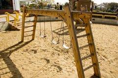 σταθμός παιδικών χαρών αερί&o Στοκ εικόνα με δικαίωμα ελεύθερης χρήσης