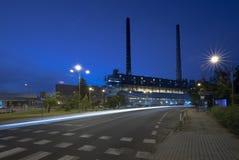 Σταθμός παραγωγής ηλεκτρικού ρεύματος και ενέργεια Στοκ Εικόνες