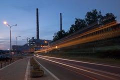 Σταθμός παραγωγής ηλεκτρικού ρεύματος και ενέργεια Στοκ φωτογραφία με δικαίωμα ελεύθερης χρήσης