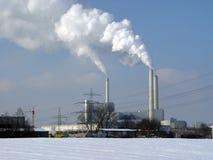 Σταθμός παραγωγής ηλεκτρικού ρεύματος 016 Στοκ φωτογραφίες με δικαίωμα ελεύθερης χρήσης