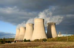 σταθμός παραγωγής ηλεκτρικού ρεύματος Στοκ φωτογραφία με δικαίωμα ελεύθερης χρήσης