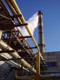 σταθμός παραγωγής ηλεκτρικού ρεύματος στοκ φωτογραφίες με δικαίωμα ελεύθερης χρήσης