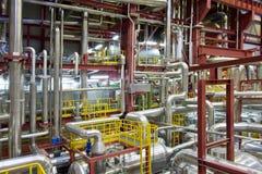 σταθμός παραγωγής ηλεκτρικού ρεύματος στοκ εικόνες με δικαίωμα ελεύθερης χρήσης