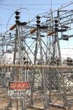 σταθμός παραγωγής ηλεκτρικού ρεύματος 4 Στοκ εικόνα με δικαίωμα ελεύθερης χρήσης
