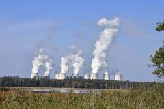 Σταθμός παραγωγής ηλεκτρικού ρεύματος Jaenschwalde Στοκ εικόνες με δικαίωμα ελεύθερης χρήσης