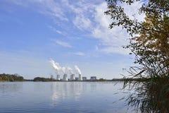 Σταθμός παραγωγής ηλεκτρικού ρεύματος Jaenschwalde Στοκ Φωτογραφία
