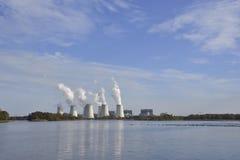 Σταθμός παραγωγής ηλεκτρικού ρεύματος Jaenschwalde Στοκ φωτογραφίες με δικαίωμα ελεύθερης χρήσης