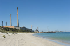 σταθμός παραγωγής ηλεκτρικού ρεύματος kwinana της Αυστραλίας δυτικός Στοκ φωτογραφία με δικαίωμα ελεύθερης χρήσης