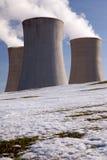 σταθμός παραγωγής ηλεκτ&r στοκ φωτογραφίες με δικαίωμα ελεύθερης χρήσης