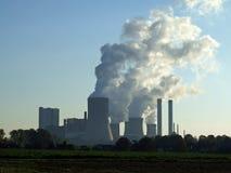Σταθμός παραγωγής ηλεκτρικής ενέργειας στοκ φωτογραφία με δικαίωμα ελεύθερης χρήσης
