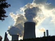 Σταθμός παραγωγής ηλεκτρικής ενέργειας στοκ εικόνες με δικαίωμα ελεύθερης χρήσης