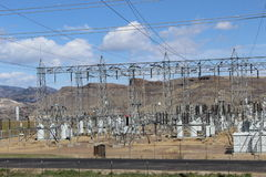 Σταθμός παραγωγής ηλεκτρικού ρεύματος Στοκ Εικόνες