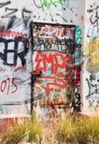 Σταθμός παραγωγής ηλεκτρικού ρεύματος Fremantle: Κολλημένη πόρτα Στοκ φωτογραφίες με δικαίωμα ελεύθερης χρήσης