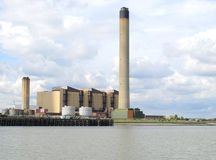 Σταθμός παραγωγής ηλεκτρικού ρεύματος Littlebrook Στοκ Εικόνα