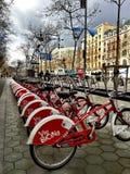 Σταθμός ποδηλάτων στοκ φωτογραφία με δικαίωμα ελεύθερης χρήσης