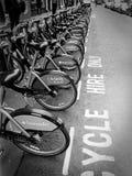 Σταθμός ποδηλάτων Boris στο Λονδίνο Στοκ φωτογραφία με δικαίωμα ελεύθερης χρήσης