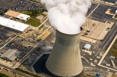 σταθμός πυρηνικής ενέργειας Στοκ Εικόνα