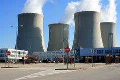 σταθμός πυρηνικής ενέργε&iota Στοκ εικόνα με δικαίωμα ελεύθερης χρήσης